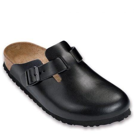 Boston Hunter Black Leather