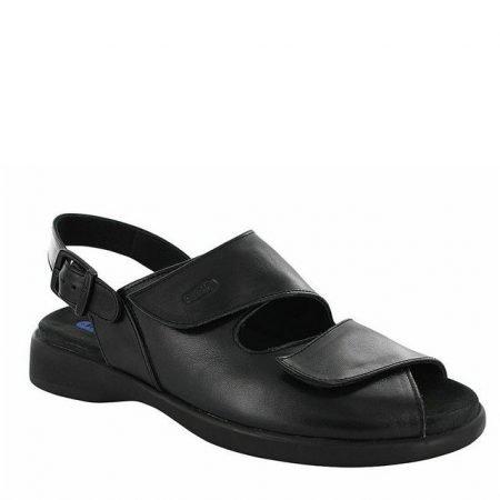 Nimes Black Smooth Leather