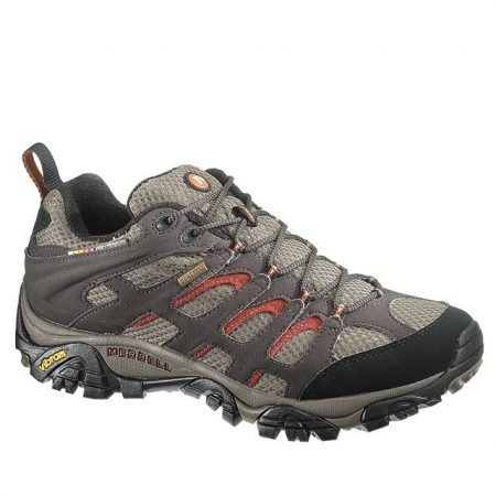 Men's Moab Gore-Tex Wide-Width Dark Chocolate