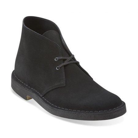 Desert Boot - Black Suede