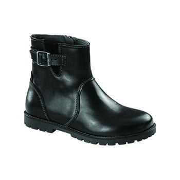 Stowe Black Leather