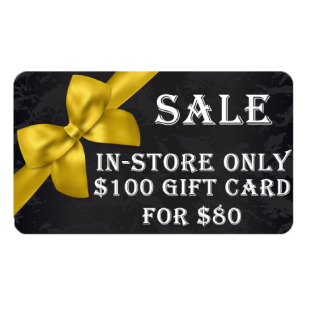 Morgan's Shoes In-store Gift Card $100 for $80