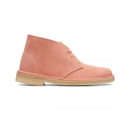 Desert Boot Coral Suede