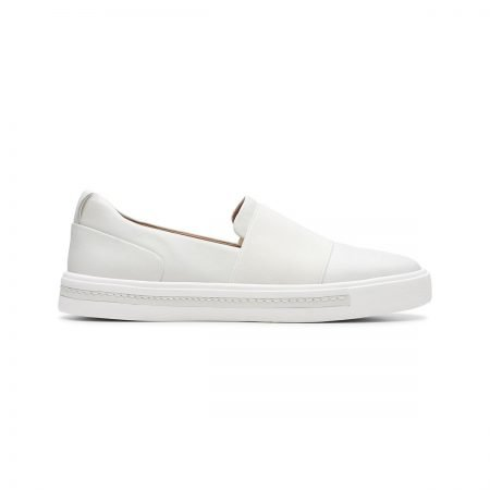 Un Maui Step White Leather