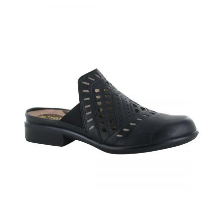 Sharkia Soft Black Leather
